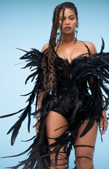 BEYONCÉ WORE A CUSTOM-MADE ASHI STUDIO IN BLACK IS KING FILM